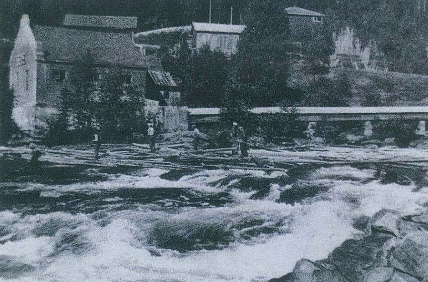 1930 - Fløtingen på 1930 tallet