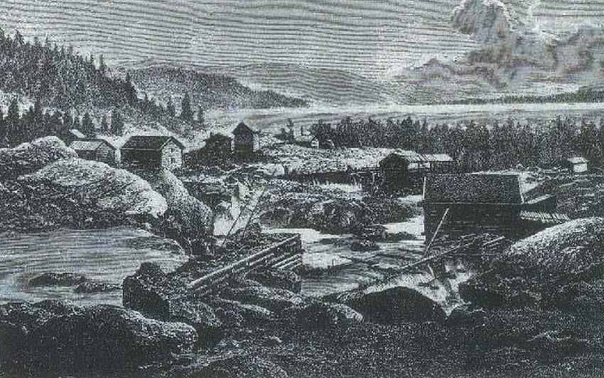 1892 - Fagernes har ca. 100 innbyggere
